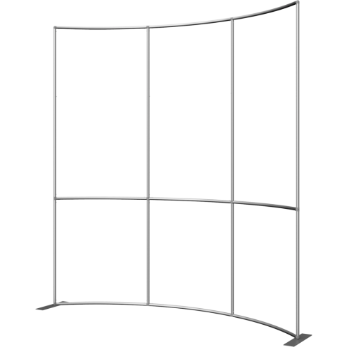 Formulate Master 10ft Horizontal Curve 10ft Tall Fabric Backwall